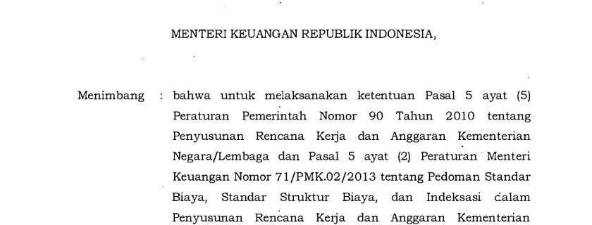 Peraturan Menteri Keuangan Republik Indonesia Nomor 32 Tahun 2018