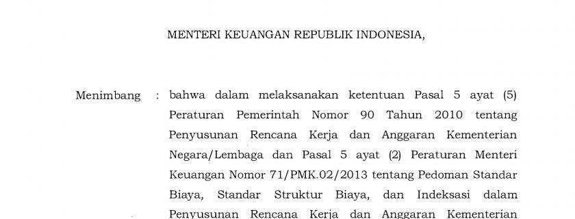 Peraturan Menteri Keuangan Republik Indonesia Nomor 49 Tahun 2017