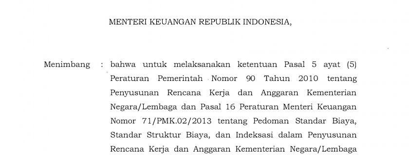 Peraturan Menteri Keuangan Republik Indonesia Nomor 86 Tahun 2017